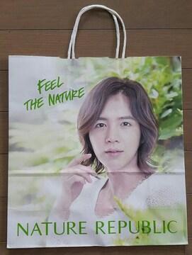 【チャン・グンソク★ショップ袋】#韓国#NATURE REPUBLIC#紙袋