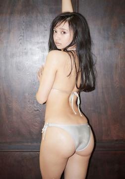 ■小宮有紗■ビキニ水着 美尻 生写真(即決)2