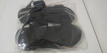 新品 wcloset スポーツサンダル 黒 Lサイズ23.5�p〜24�p