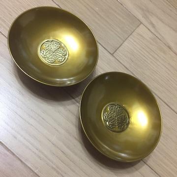 日光東照宮 御鎮座400年記念 金の盃2個セット