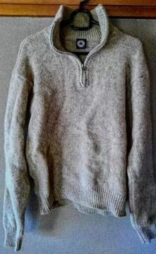 CONVERSE メンズ セーター ベージュ L サイズ コンバース 洋服
