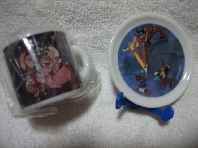ディズニー ピノキオ ミニマグカップ/ミッキー ミニプレート < アニメ/コミック/キャラクターの