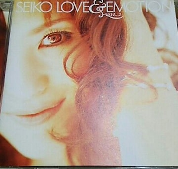CD 松田聖子 SEIKO LOVE&EMOTION VOL.2 帯なし