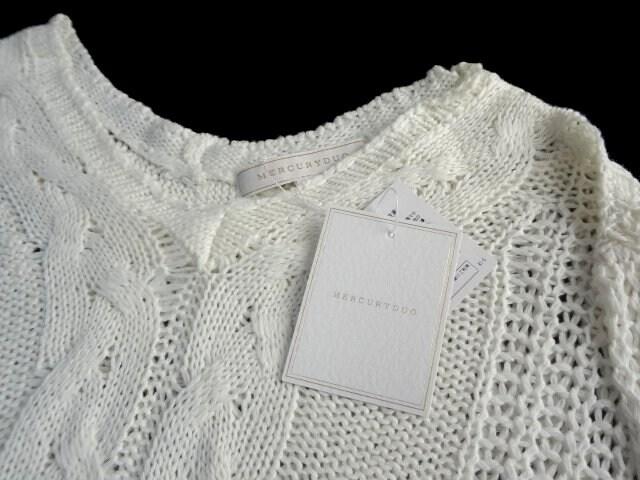 新品 定価6825円 マーキュリーデュオ ニット セーター < ブランドの