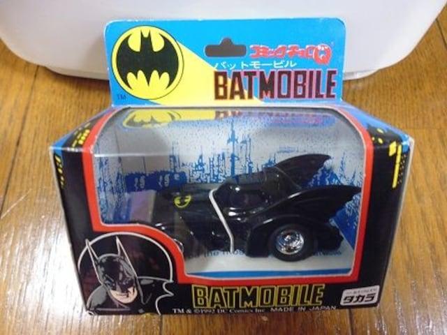 コミックチョロQ BATMAN BATMOBILE バットマンバットモービル タカラ  < ホビーの