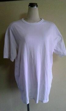 H&M白ビックTシャツS