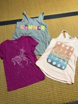 美品 まとめ売り GAP オールドネイビー Tシャツ キッズ 130
