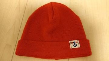 ★ミキハウス★ニット帽★未使用★赤★男女兼用★帽子★