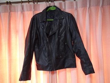 GUのライダージャケット(M) 黒!