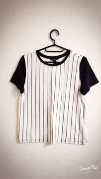 新品!Forever21☆ストライプTシャツ
