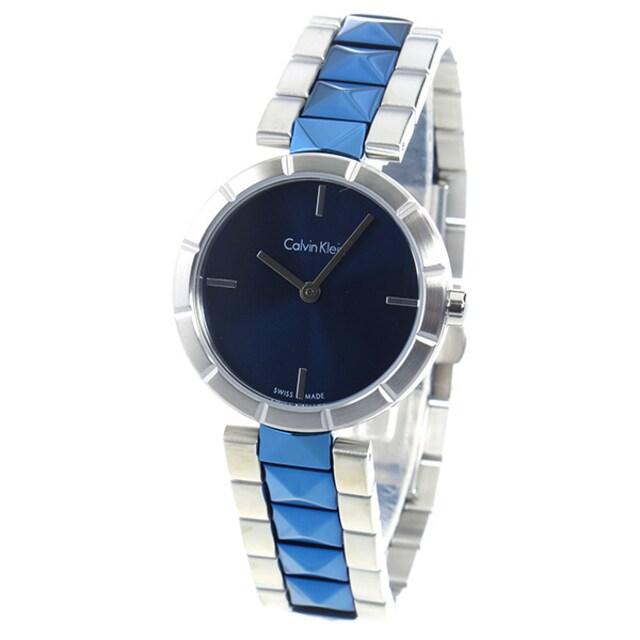 新品 即買い■カルバン クライン レディース 腕時計 K5T33T4N < ブランドの