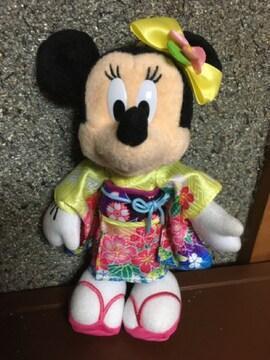 ☆タグ付き&未使用☆正月限定☆ミニー☆ぬいば☆2016年☆