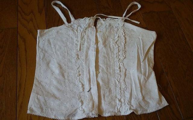 RAIE PADOU 綿キャミ 美品  < 女性ファッションの