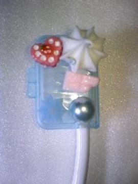 可愛い歯ブラシケースブルー