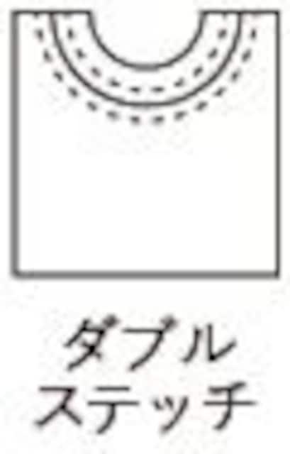 5.6オンス ロングスリーブTシャツ(1.6インチリブ)ホワイト L < 男性ファッションの