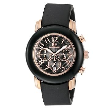 フォリフォリ 腕時計 レディース WF9R001ZEK-BK クォーツ