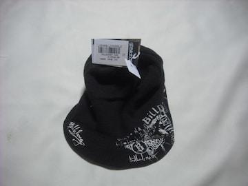 mb384 男 BILLABONG ビラボン つば付き ニット帽 ビーニー 茶