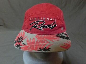 USA購入【FORTY SEVEN】SNAPBACK【Cincinnati Reds】ロゴ刺繍CAP
