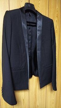 国内正規 新古 Dior Hommeディオールオム スモーキングチューブジャケット黒 最小40