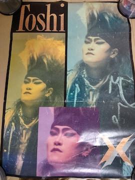 X JAPAN ToshI 特大ポスター 1992年 83cm×60cm