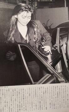 中山美穂【FOCUS】1991年1月18日号ページ切り取り