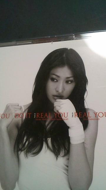 山田優♪シングルCD+DVD[限定]〜REAL・YOU〜帯付 < タレントグッズの