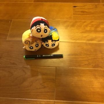 クレヨンしんちゃん&ひまわり マスコットキーチェーン 3個