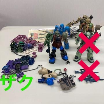 HG ザク 4体セット+パーツ ジャンク