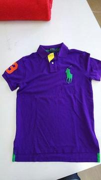新品☆ビックポニーRALPH LAURENポロシャツS