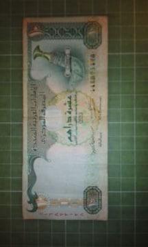 UAE10ディルハム紙幣♪