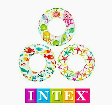 INTEX★2個セット★浮き輪★うきわ★51cm★スイムリング★海