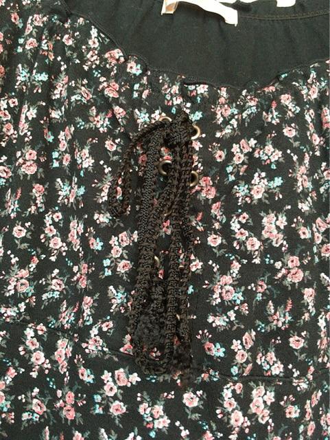 ELLE PLANETE 花柄 半袖 トップス カットソー 38 N2m