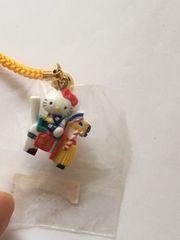 郷土玩具シリーズ☆限定キティ☆チャグチャグ馬コ☆根付け