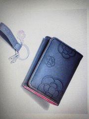 (送料込)★steady12月号★クレイサス 三つ折財布&キーチャーム