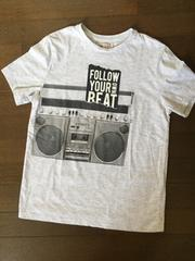 ZARA BOYS☆クールなラジカセプリントTシャツ・新品