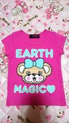 【EARTHMAGIC】アースマジック☆BIGフェイスマフィーTシャツ
