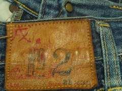 ¶EVISU[エビスヤデ]★旧2501XX(2001)No.2セルビッチデニムパンツ 73�p