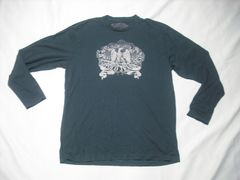 29 男 ラルフローレン ポロジーンズ 黒 長袖Tシャツ L