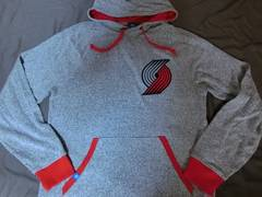 USA購入 adidas製 NBA Portland Trail Blazers パーカーUS XL