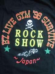 B'z ビーズ ライブ コンサート LIVE ROCK SHOW 限定 Tシャツ ブラック 1998