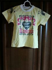 リボン柄、ハート柄のかわいいTシャツ110�p