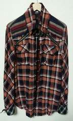 yasu着 l.g.b. shirt-g/m チェックシャツ lgb ルグランブルー
