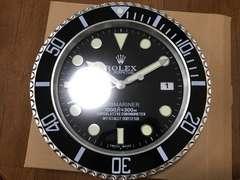 ロレックス サブマリーナ 壁掛け時計 ノベルティ 非売品 限定2個