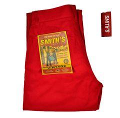 新品・スミスアメリカン/ビンテージワークパンツW73cm股下82cm