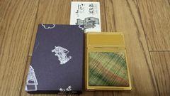 通産省指定 伝統的工芸品   塩沢和風スタンドミラー
