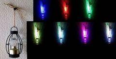 LEDライト ミラーボール ランタン 虹色 イルミネーション