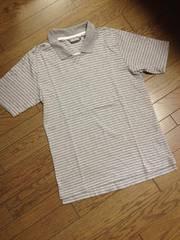 美品monkey time デザインボーダーポロシャツ 日本製 アローズ