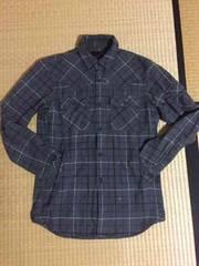 美品 アンダーカバー x ユニクロ ネルシャツジャケット灰S 安値