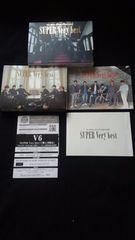 V6 SUPER Very best 初回限定盤B DVD ベストアルバム 即決