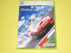 xbox360★リッジレーサー6